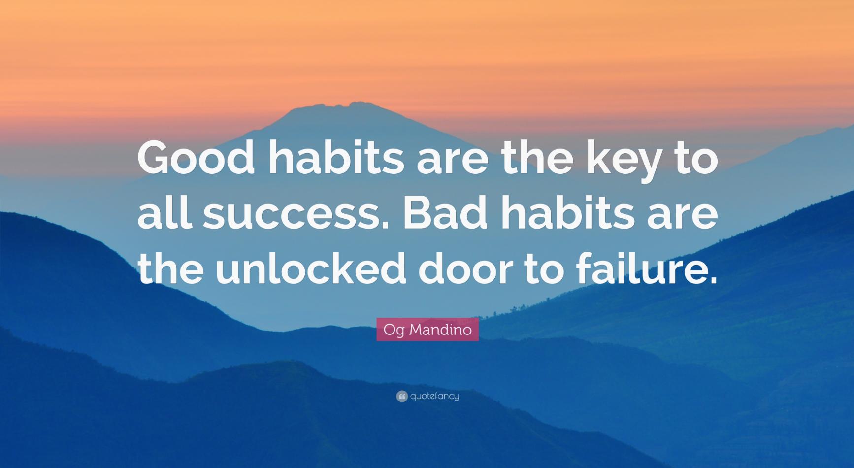 Cultiver facilement des bonnes habitudes